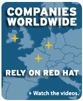Red Hat\'s Europe, large