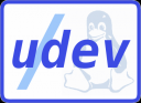udev plus tux, from the udev page
