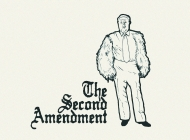 Second Amendment T-Shirt by bustedtees.com