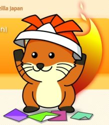 Foxkeh, the Mozilla Japan Mascot