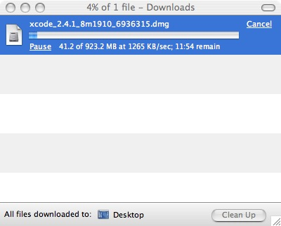 XCode Download Speed