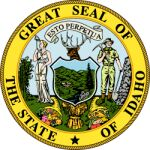 Idaho State Seal; Quelle: Wikipedia