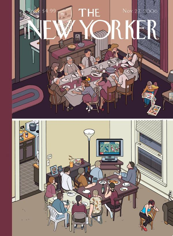 The New Yorker: Thanksgiving